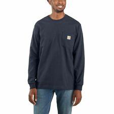 Carhartt camuflaje Workwear Pocket t-shirt L/s Navy