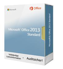 Microsoft Office 2013 standard 1 PC-NUOVO & ORIGINALE-download-SPEDIZIONE LAMPO
