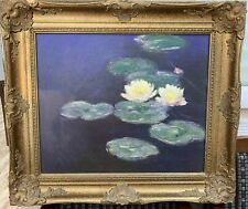 Altelier Brushstrokes Claude Monet NYMPHEAS (Waterlilies) COA  312/980