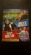 Shaun of the Dead/Hot Fuzz/The Worlds End (Blu-ray) Cornetto Trilogy