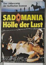 A01 sadomania Hell of Lust 1981 Ajita Wilson-Rolled Movie Poster