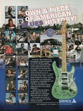 1994 VINTAGE 8X11 Print Ad for SAMICK TRAD GUITAR LONG BEACH BLUES FESTIVAL KLON