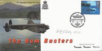 55th Anniv Formation  617 Dam Busters signed JW G Bickley  Air Gunner  617 Sqn