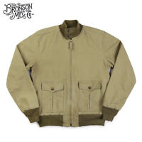 Bronson Replication USN 37J1 Flight Jacket Mens Cotton Military Outwear Navy
