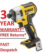 DeWALT DCF887N 18V XR 3 Speed Brushless Impact Driver Body Only BARE NEW