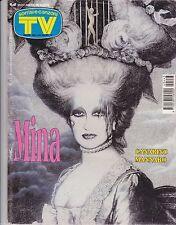 SORRISI E CANZONI TV - N°43 del OTTOBRE 1994 - MINA - RUBRICA ED ARTICOLO DENTRO