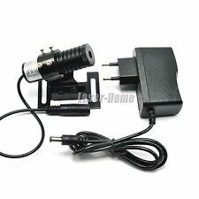 650nm 40mw Red Focus DOT Laser Diode Module w/ 5V Adapter & Heatsink Adjusted