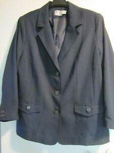 Blazer Jacke dunkel blau Fair Lady Gr 46