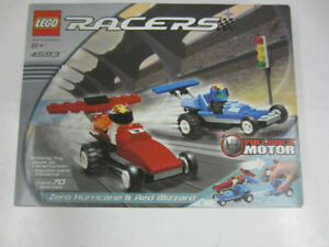 LEGO 4593 RACERS Zero Hurricane and Red Blizzard New & Sealed