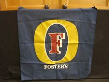 """Foster'S Beer Advertising Bar fabric 20""""x20"""" for Party Room, mancave, bar"""