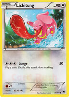 4X Pokemon Furious Fists Lickitung 78/111 Common Card