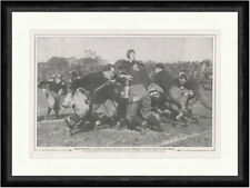 Rugby-Fußball in Amerika 1909 Yale West Point Sport Football F_Vintage 00244