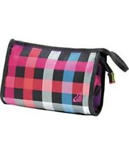 Roxy Women's Multi Check Cosmetic Bag