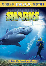 New DVD - Searching For The Great Sharks IMAX