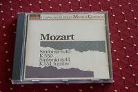 """CD MOZART """"SYMPHONIES N° 40 & N° 41"""" RICHARD EDLINGER, MOZART FESTIVAL ORCHESTRA"""