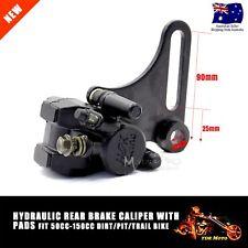 Hydraulic Rear Disc Brake Caliper System Pad 110 125cc 140cc Pit Pro Dirt Bike