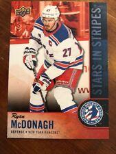 2018 UD National Hockey Card Day America Stars In Stripes #USA-9 Ryan McDonagh