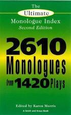 das ultimative monolog index (smith und kraus monolog index), zweite auflage