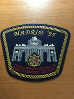 SPAIN PATCH POLICE POLICIA IPA COLLECTORS MEETING 1995 ( MADRID ) - ORIGINAL!