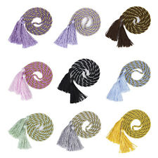 1 Pair Curtain Tiebacks Tie Backs Tassel Rope Living Room Bedroom Decoration LW