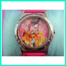 Winx Club Girl Kids Child Men Boy Women Fashion Quartz Wrist Watch + Charm