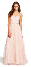 PRETTY IN PINK Adrianna Papell Tulle Evening Ball Gown Dance Dress Prom Queen 8
