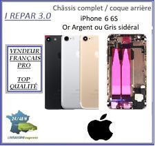 Châssis complet / Coque arrière iPhone 6 6S Or Argent Rose ou Gris sidéral