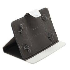 PU Leder Universal Tablet Hülle Tasche Case Cover für 9 Zoll Tablet PC Neu Weiß