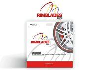 Rimblades PRO alloy wheel rim protectors-red, black, white or silver
