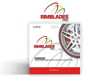 Rimblades PRO alloy wheel rim protectors-red, black, white or silver