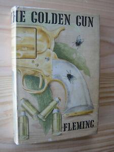 THE MAN WITH THE GOLDEN GUN.Ian Fleming,James Bond,1965,1st.edit.