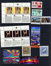 United Nations- Commemoratives from Vienna 1992- Includes Peter Max Block