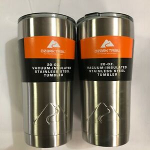 Ozark Trail 20-Ounce Double-Wall, Vacuum-Sealed Stainless Steel Tumbler