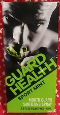 Guard Health Mouth Guard Sanitizing Spray 1.5 oz. Sport Mint Made In the Usa