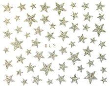 ❤️NOUVEAU NAIL ART 50 STICKERS 3D ETOILES BIJOUX ONGLES-MANUCURE