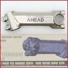 "NOS 3T PRO TITANIUM 110mm 1"" INCH STEM 90s VINTAGE AHEAD THREADLESS ROAD TTT NEW"