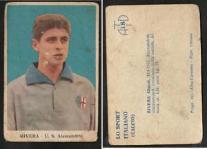 Figurina Cartonata ATD Tortona 1959-60 Rivera (Alessandria) Ottima ROOKIE RARA ▓