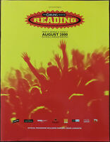 Reading Festival 2000 Official Programme Oasis, Beck, Pulp, Foo Fighters etc.