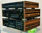PIONEER EQ GR-555 wooden side panels super GLOSSY Urushi design Gold equalizer