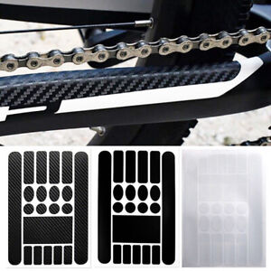 skonhed Bicycle Chain Cover,New Black Durable Bike Accessories Bicycle Stay Chain Protector Cloth Chain Care