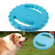 Big Pet Dog Training Frisbee Flying Disc Frisby Fetch soft Rubber Throwing Toy