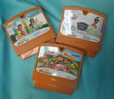 Vtech Vsmile Motion Game Cartridges Lot of 3