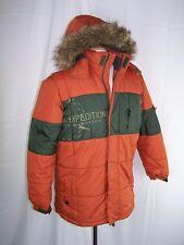Rothschild Bz-Ltd Burnt Orange Large Snowboard Jacket Ski Coat Faux Fur Hood