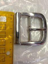 Plain argent poli pin boucle de ceinture pour snap on ceintures police sécurité style
