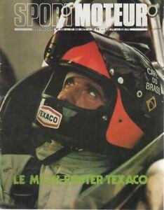 SPORT MOTEUR 335 1973 ESSAI : TRIUMPH DOLOMITE GRAND PRIX BELGIQUE TARGA FLORIO