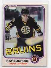 1X RAY BOURQUE 1981 82 O Pee Chee #1 EXMT OPC Boston Bruins