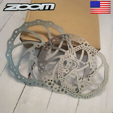 ZOOM MTB Bike 140mm/160mm/180mm/203mm Disc Brake Rotor Stainless 6 Bolts Rotor