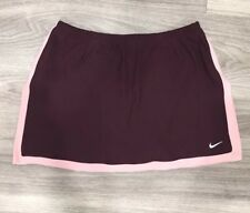 Nike Women's Red And Pink Tennis Running Skirt Size XS