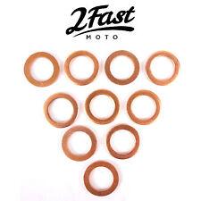 2FastMoto Copper Crush Washer 10 Pack Brake Line Banjo Bolt Washers Kawasaki