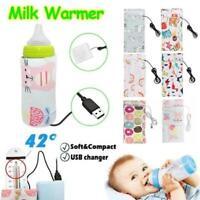 Portable Baby USB Bottle Warmer Thermal Kids Feeding Milk Bag Outdoor Keep Warm